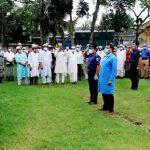 পাবনার দুলাইয়ে বীর মুক্তিযোদ্ধা আব্দুল করিম মোল্লা রাষ্ট্রীয় মর্যাদায় দাফন