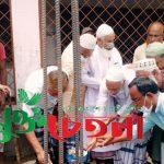 পাবনার হান্ডিয়াল মসজিদের বারান্দা নির্মাণ কাজের উদ্বোধন